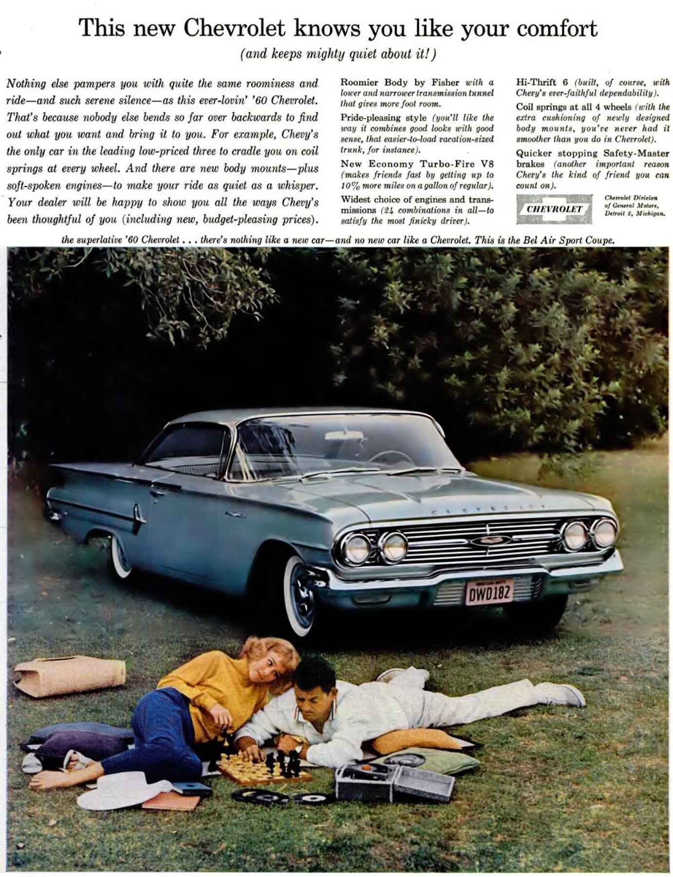 Kelebihan Chevrolet 1960 Top Model Tahun Ini