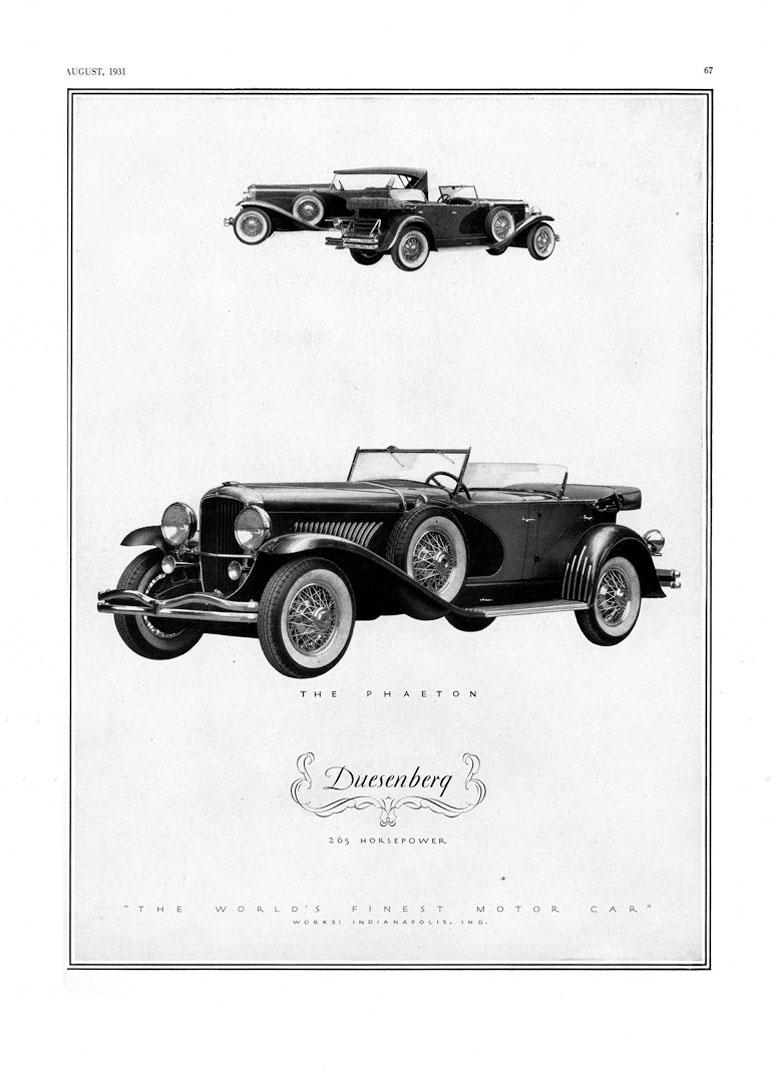 1931 Duesenberg Ad-03