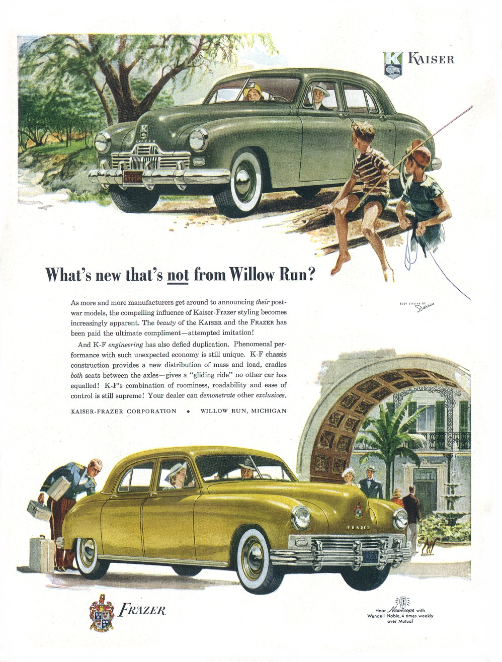 1947 20Kaiser Frazer 20Ad 02 on 1947 car ads