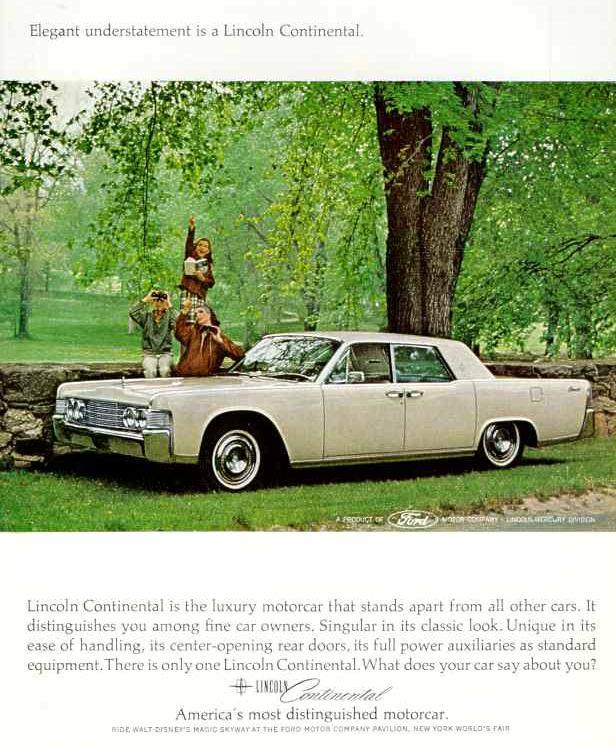 1965 lincoln ad 05. Black Bedroom Furniture Sets. Home Design Ideas