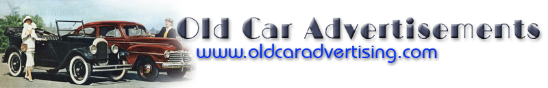 The Old Car Manual Project advertising ga